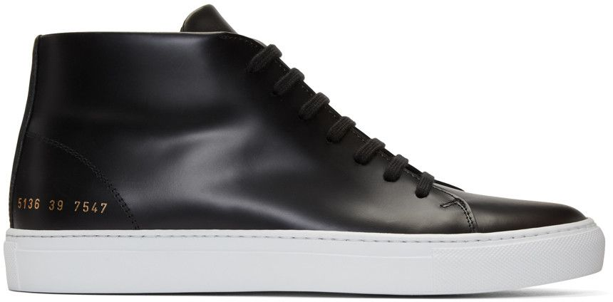 COMMON PROJECTS New Court Mid-Top Sneakers