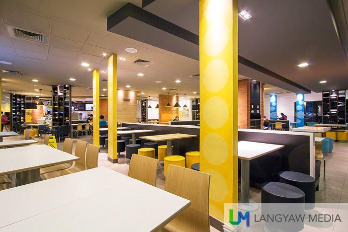 A family friendly interior design of a McDonalds store  TenZeroFour