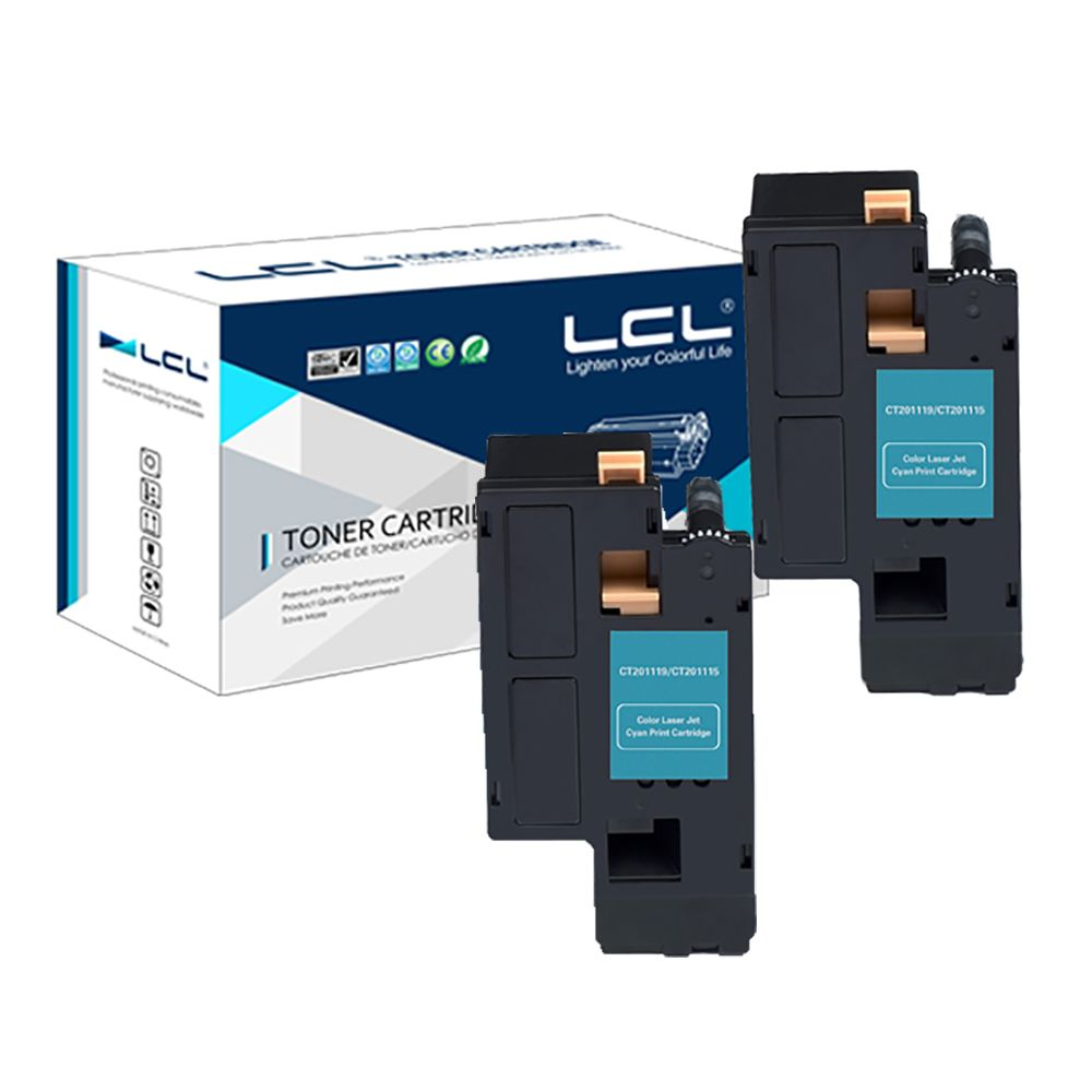 Lcl Ct201261 Ct 201261 2 Pack Cyan 3000 Pages Laser Toner