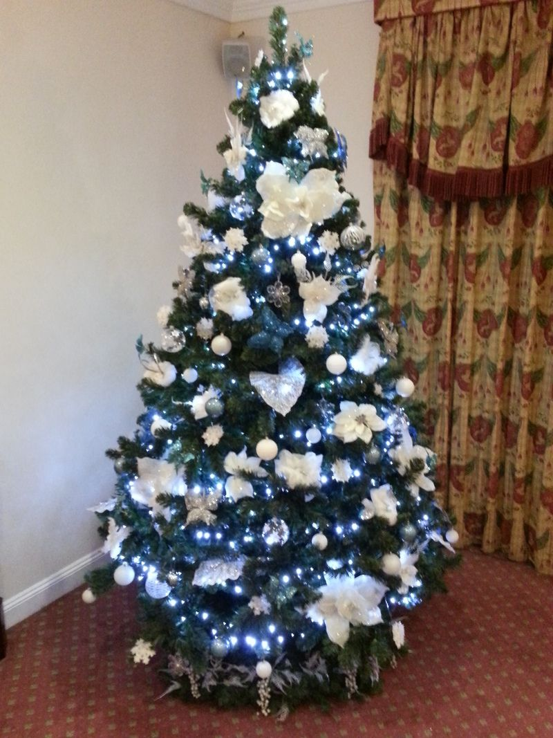 12 ft Office Christmas Trees for hire, office Christmas