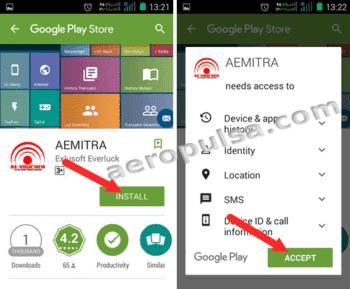 Cara Memakai Aplikasi Android Aemitra Aeropulsa Com Server Pulsa