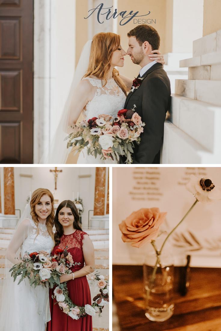 Intimate North Central Phoenix Wedding Array Design Blog