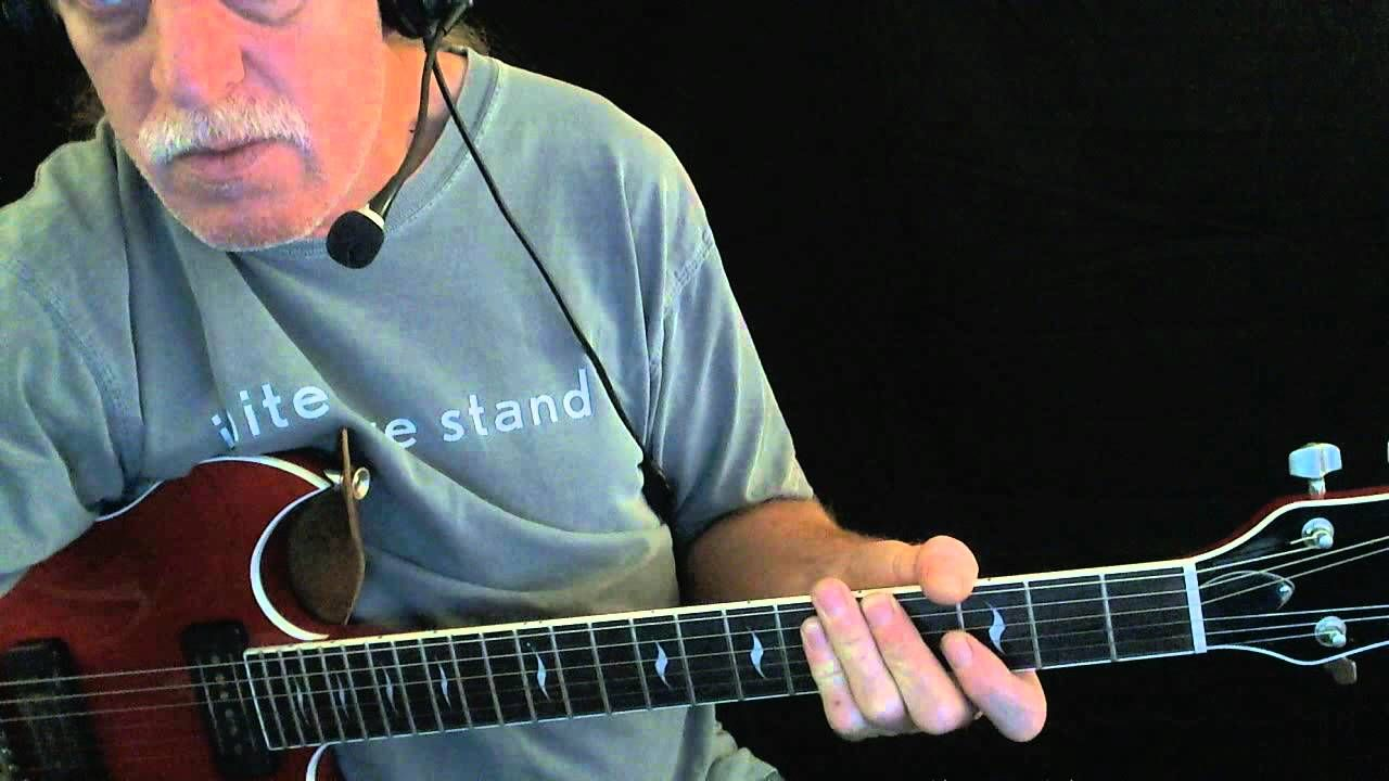 How To Play Sweet Home Chicago Blues Guitar Lesson Bar Room