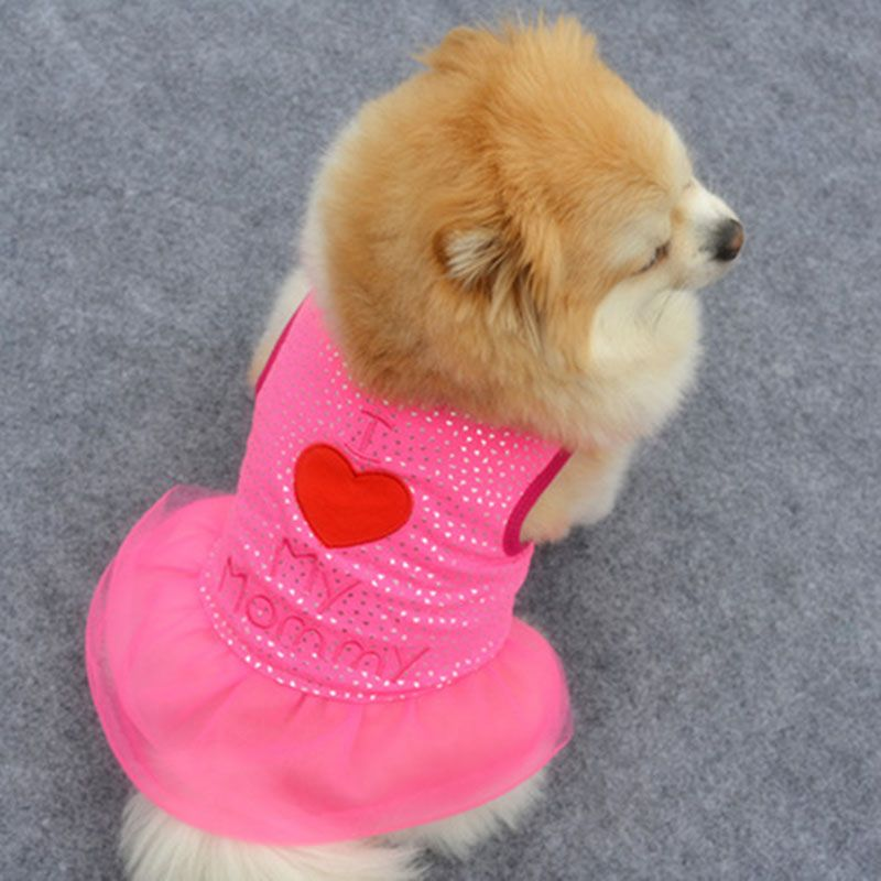 Pet Dogs Apparel Clothes Dog Winter Clothes Dog Clothes Puppy Dress