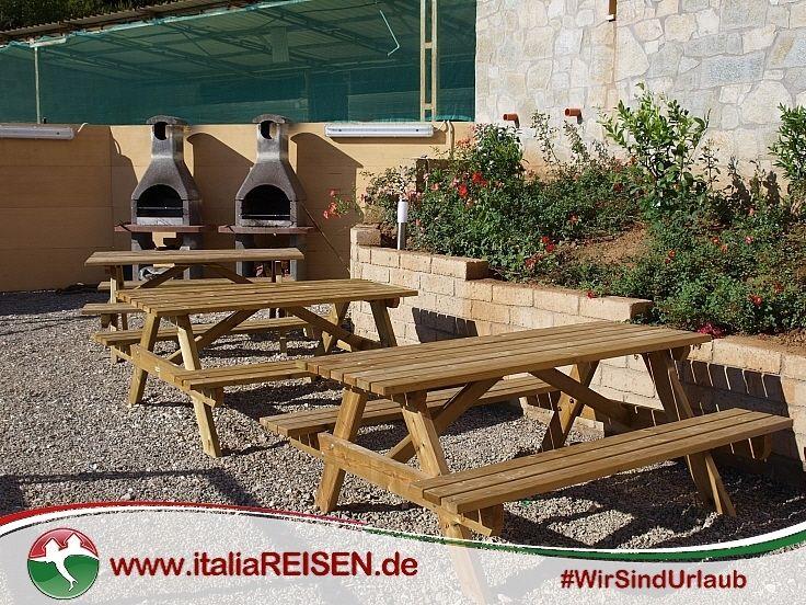 Webcode IE-CVPE) Ferienanlage mit Grillplatz für alle Gäste auf - pizzaofen mit grill