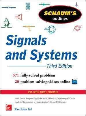 Schaum's Outlines of Signals and Systems