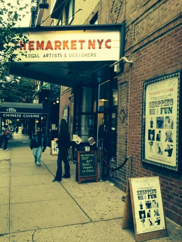 The Market NYC - Wed & Thu 12Noon to 8PM  Friday 12Noon to