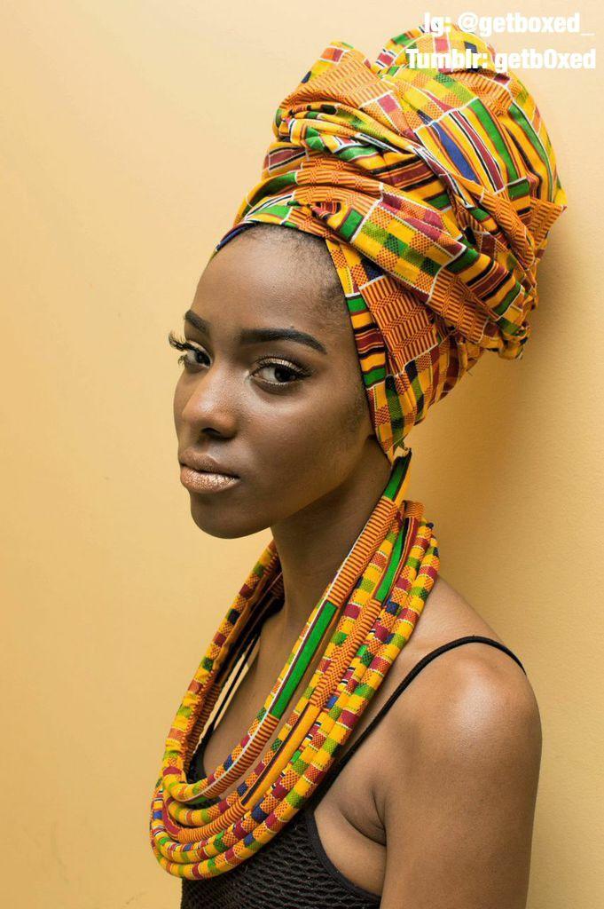 Африканские головные фото