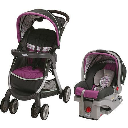 Graco FastAction Fold Sport Click Connect Travel System ...