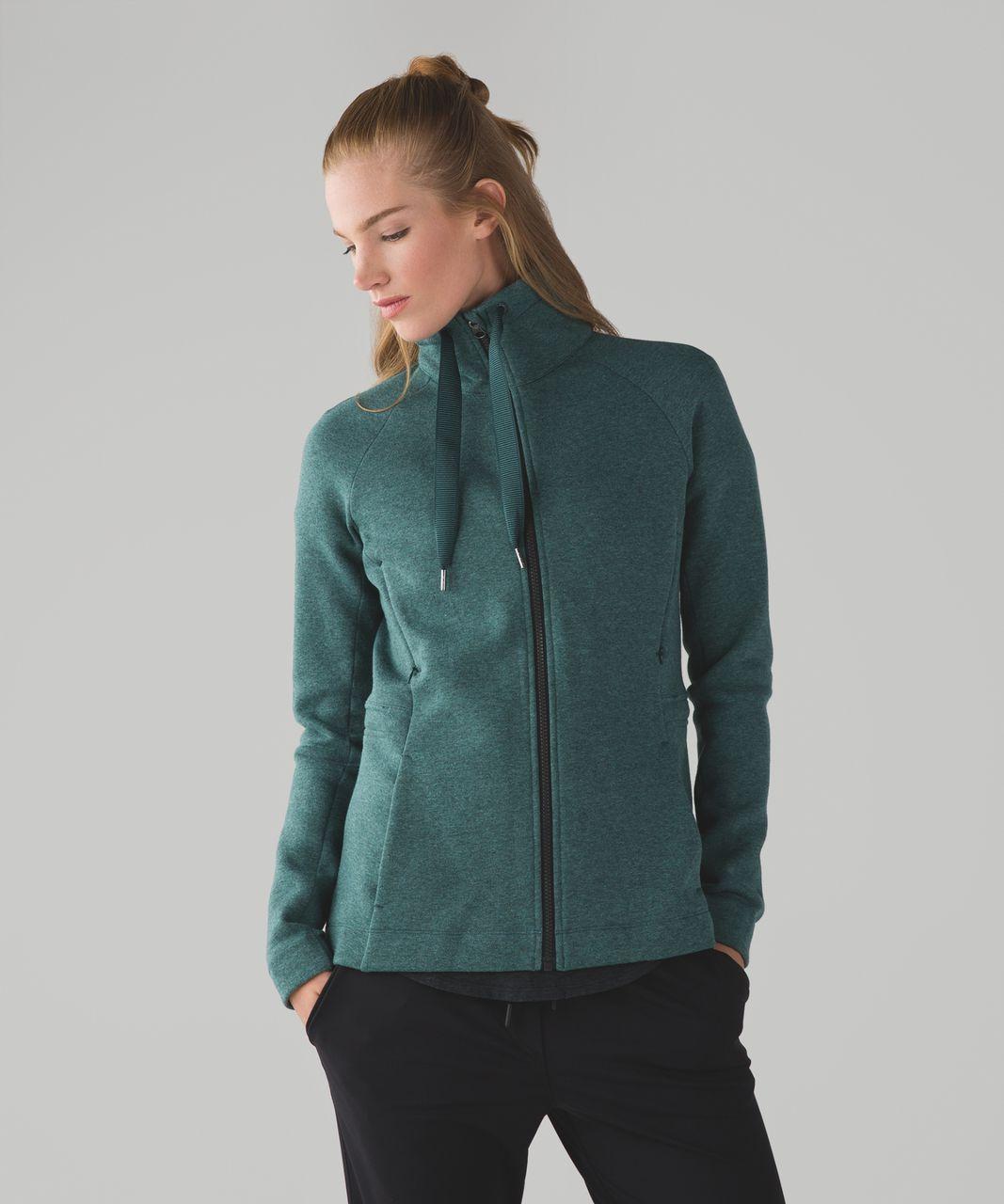 5777d20501 Lululemon &go Take-Off Fleece - Heathered Deep Green | Lululemon ...