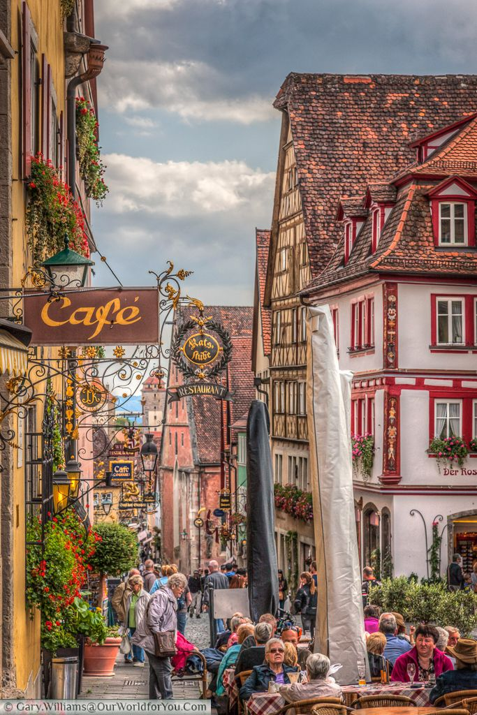 truly scrumptious rothenburg ob der tauber places germany