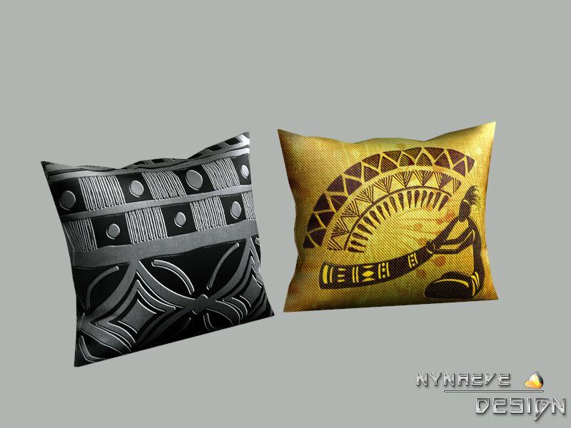 Nynaevedesigns luau tribal pillow decor rugs