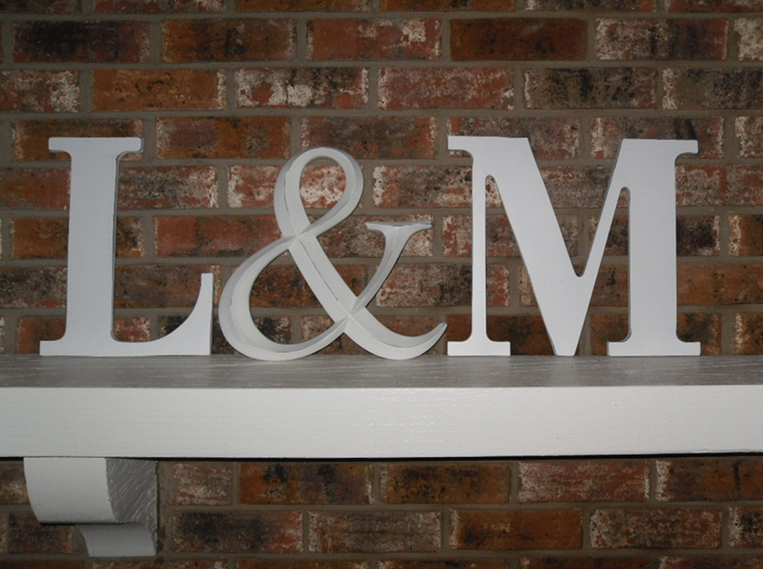 Wall Letters Capital Letter Large Ampersand Initials Photo