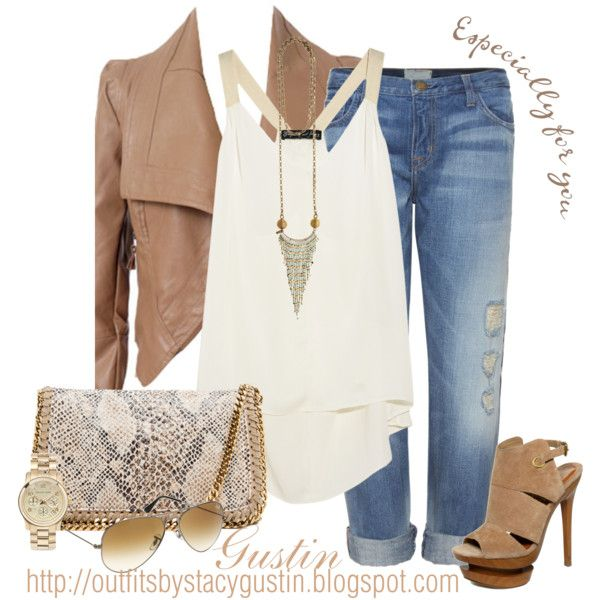 Outfit ~ Love neutrals-and great jacket!