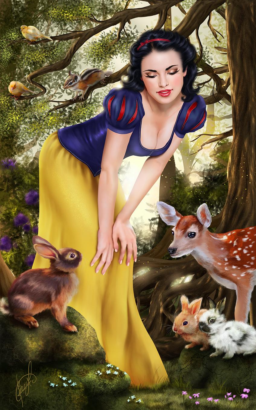 Snow White by Aida-Art.deviantart.com