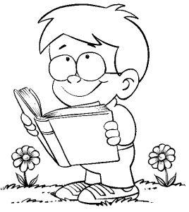 Lectura En Imagenes Dibujos Para Niños Dibujos Niños Leyendo Niños Leyendo