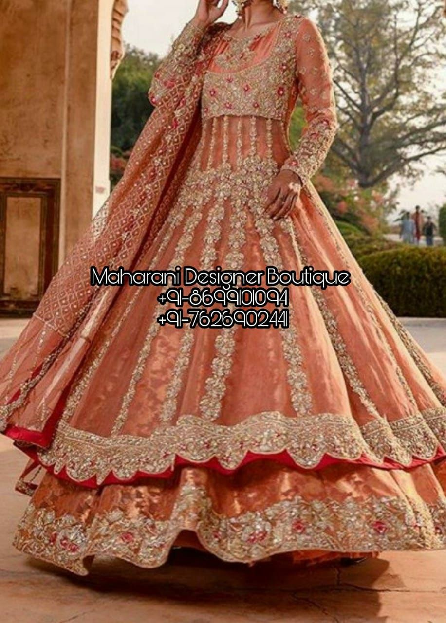 Bridal Dress Online Shopping   Maharani Designer Boutique ...