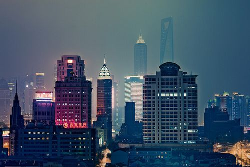 The city life.