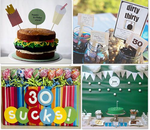 25 Birthday Party Ideas Printable And Crafts 30th 40th