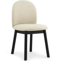 Photo of Normann Copenhagen Ace chair black fabric Camira Synergy black Normann CopenhagenNormann Copenhag