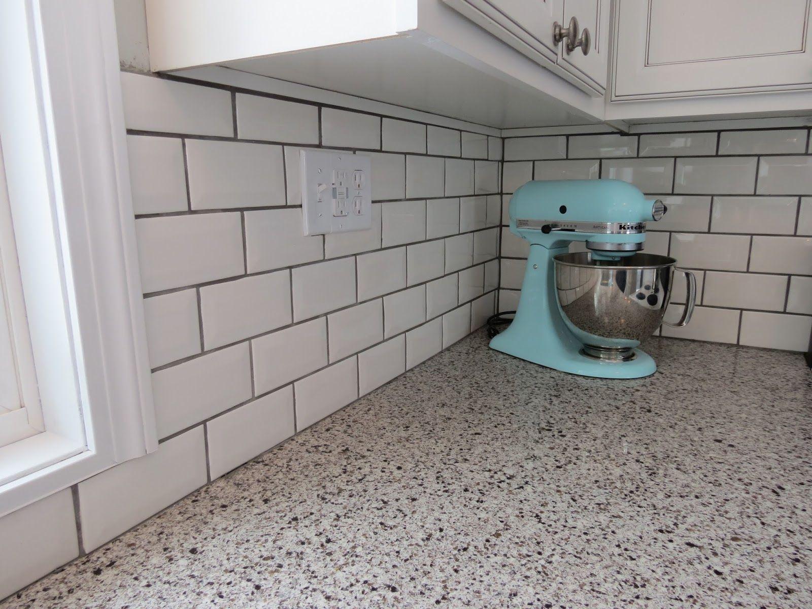 Best Grey Subway Tile Backsplash With Dark Cabinets Google 400 x 300