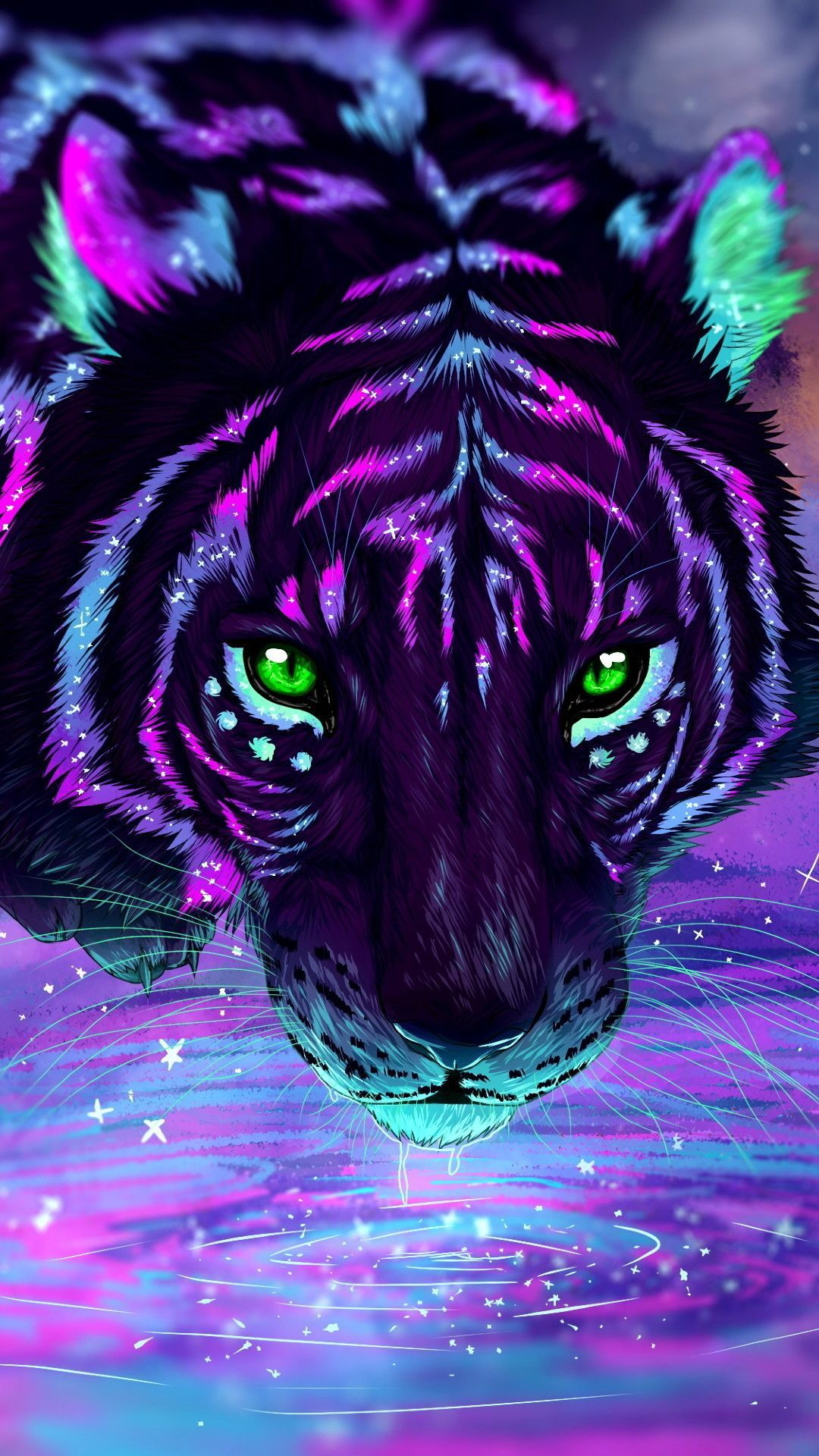 13285 3d Abstract Images Hd Photos 1080p Wallpapers Android Iphone 2020 Tiger Artwork Tiger Painting Abstract Tiger Wallpaper