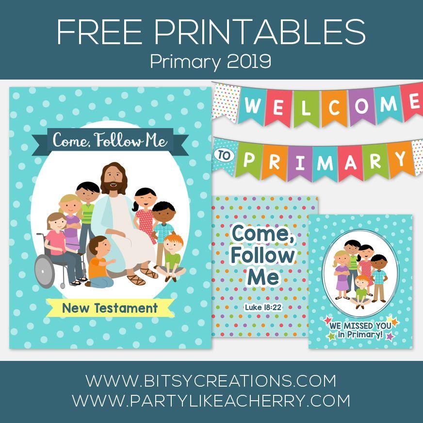 Free Primary Printables