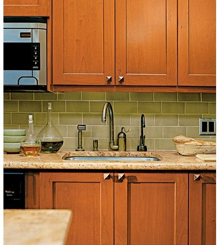 Arts And Crafts Kitchen Cabinets: Arts And Crafts Tile Backsplash