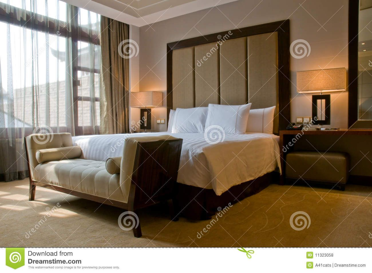 King Size Bed In A Five Star Hotel Suite Room Suite Room Hotel