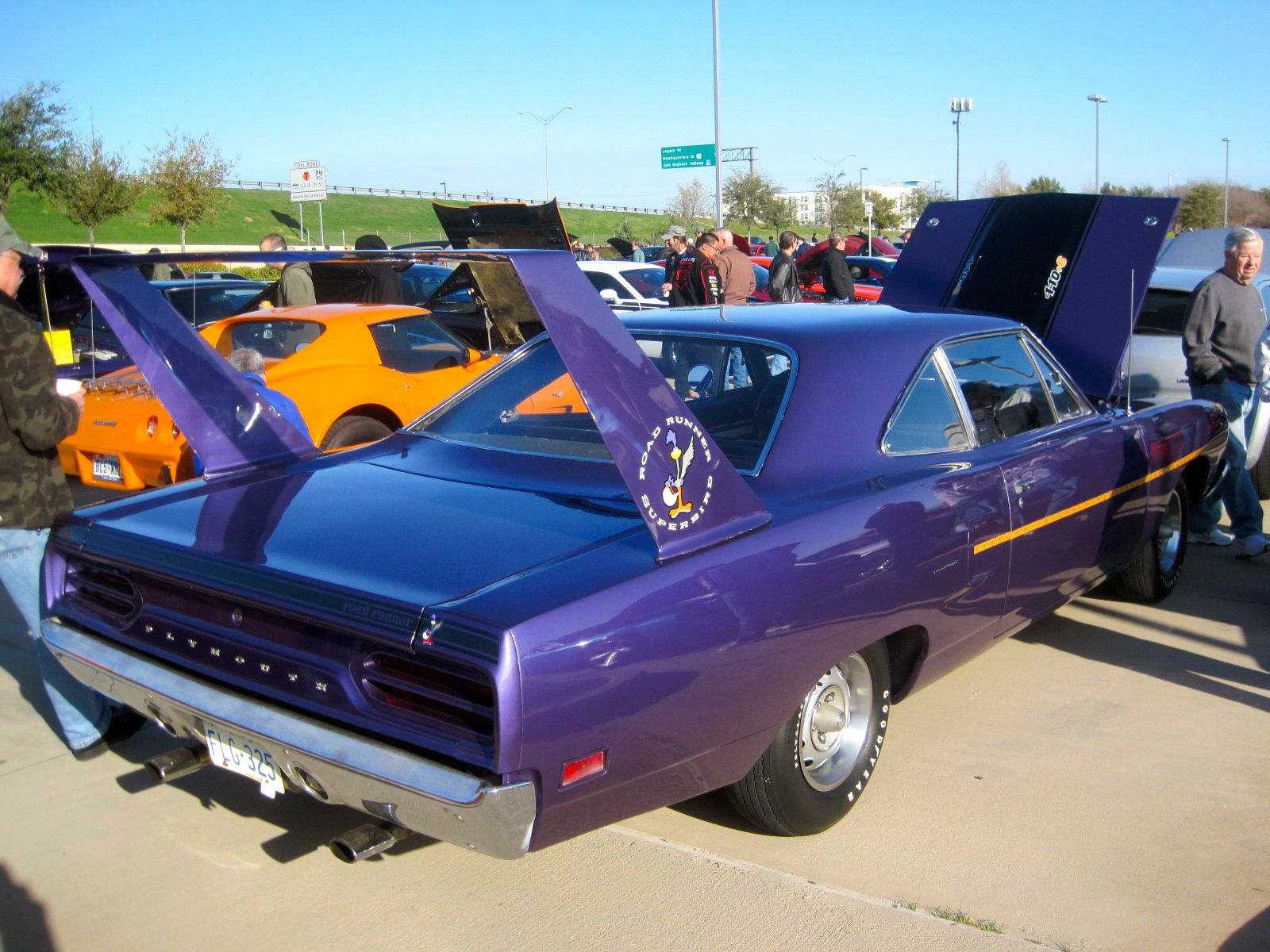 Plymouth Road Runner Superbird #plymouth #roadrunner #superbird ...