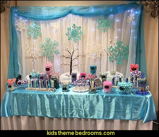 Frozen Party Decoration Set And Supplies With Hanging