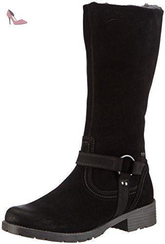 Superfit Heel, Bottes pour Fille Noir Noir (01) Taille 37