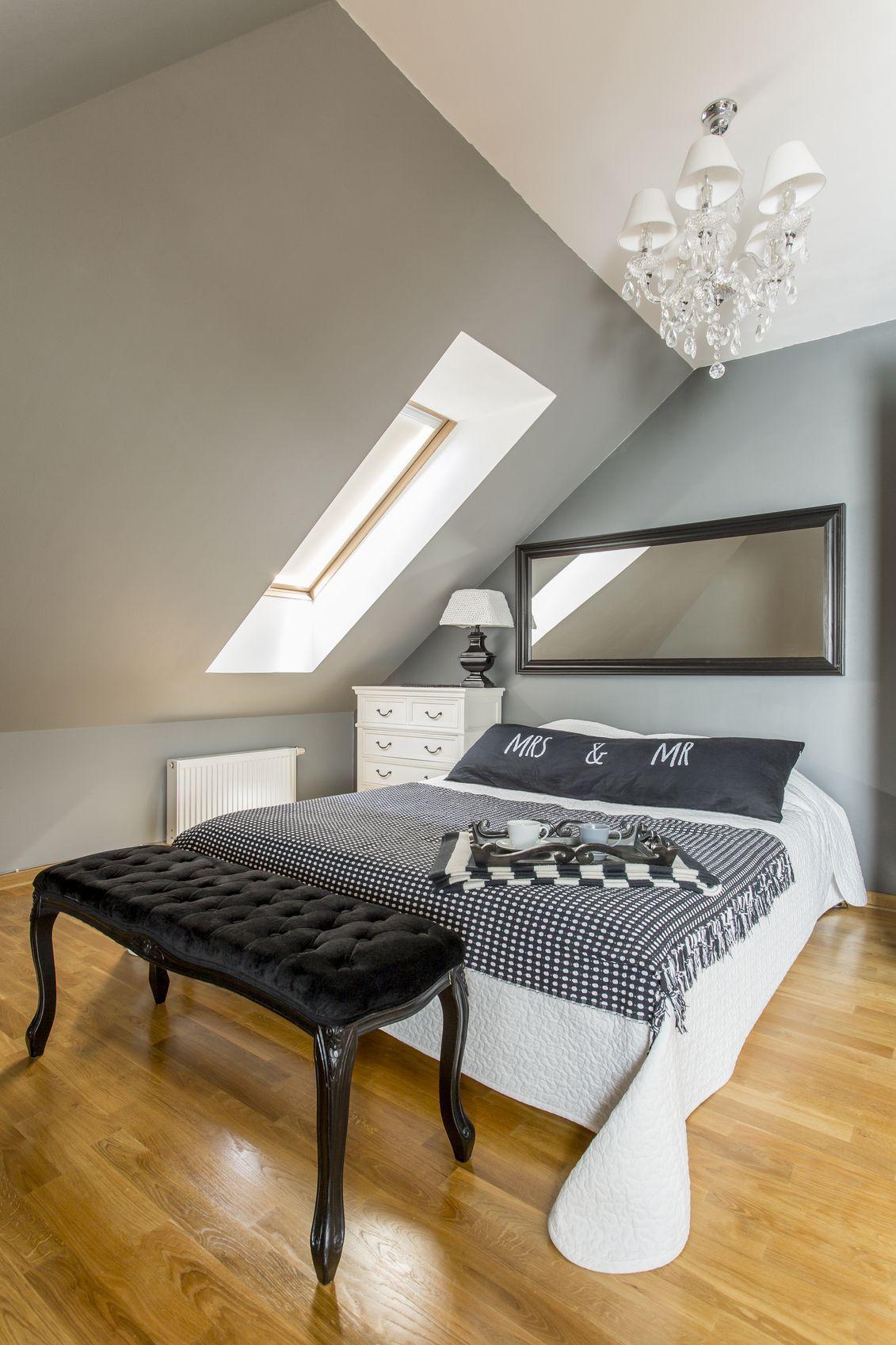 dachschrgen im schlafzimmer gestalten - Schlafzimmer Gestalten Mit Dachschrage