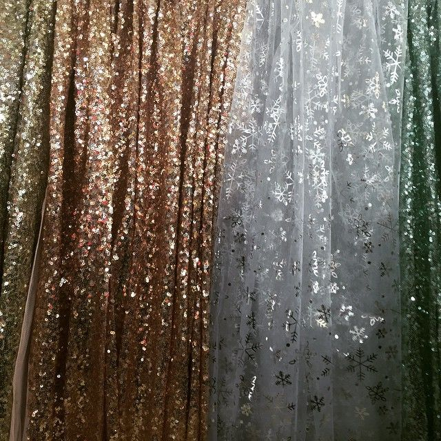 Rose pink/ Nude heavy embroidered sequins fabric. Only @pr