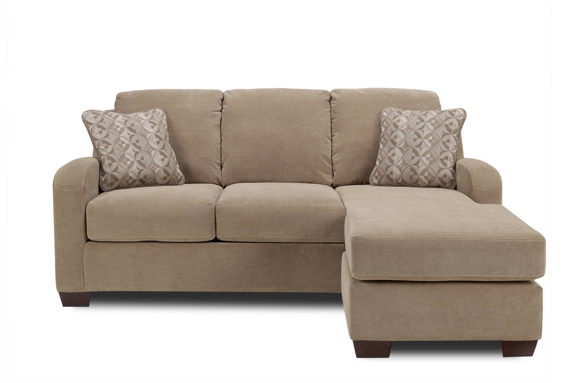 Circa Taupe Living Room Sofa With Chaise | www ...