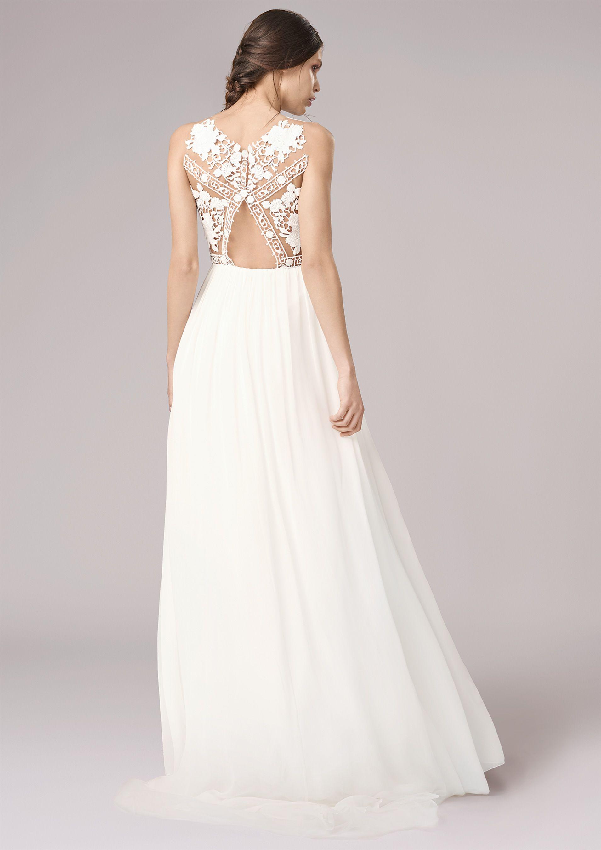 Du möchtest ein Brautkleid, das klassisch ist, aber nicht langweilig ...