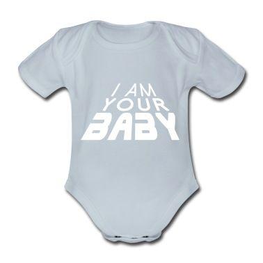 Body per neonato con I am your BABY 3D big (1c) - Body per neonato, creazione di artBox. Disponibile in diverse taglie: ordina questo prodotto adesso su Spreadshirt!