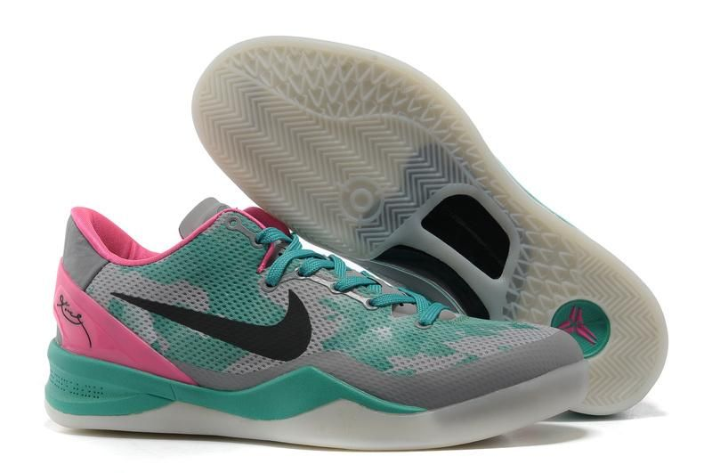 quality design b73f2 c251f Nike Zoom Kobe VIII (8) Basketball shoes Mesh South Beach Fireberry