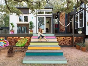 tiny house for sale texas. Designer Kim Lewis Helps Create Eclectic Tiny House In Austin, Texas For Sale