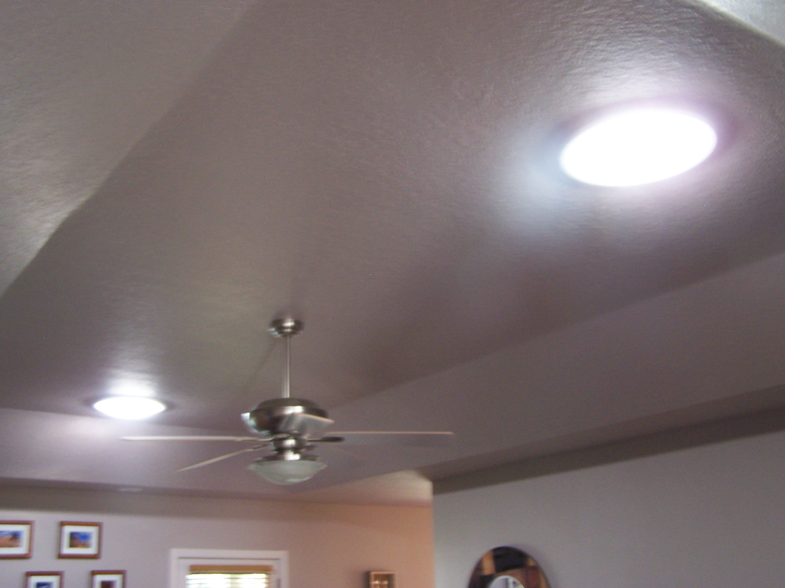 This Is What A Solar Skylight Looks Like Inside A Home Or