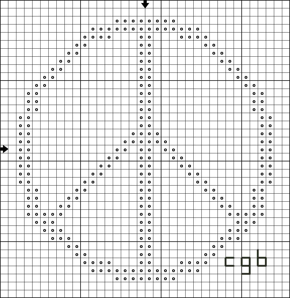 Free Four Ways to Stitch Peace Cross Stitch Pattern | Stickereimuster