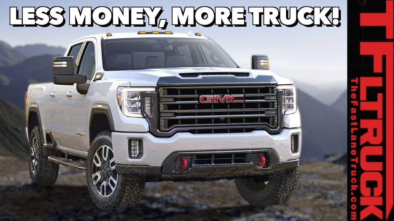 Breaking News The New 2020 Gmc Sierra Hd Is Surprisingly More Affordable Youtube Gmc Sierra Gmc Heavy Duty Trucks