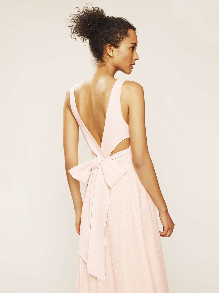 947a07ed5 SJP by Sarah Jessica Parker Bow Back Bodysuit Sleeveless bodysuit with  strappy back bow detail Crewneck Sleeveless Low back with strappy bow  detail Fully ...