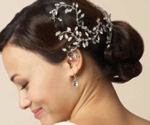 Fancy hair clip wedding pinterest fancy bridal hair and fancy hair clip pmusecretfo Images