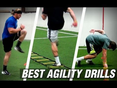 Best Speed And Agility Drills Top 4 Agility Drills Of All Time Youtube Soccer Workouts Football Workouts Agility Workouts