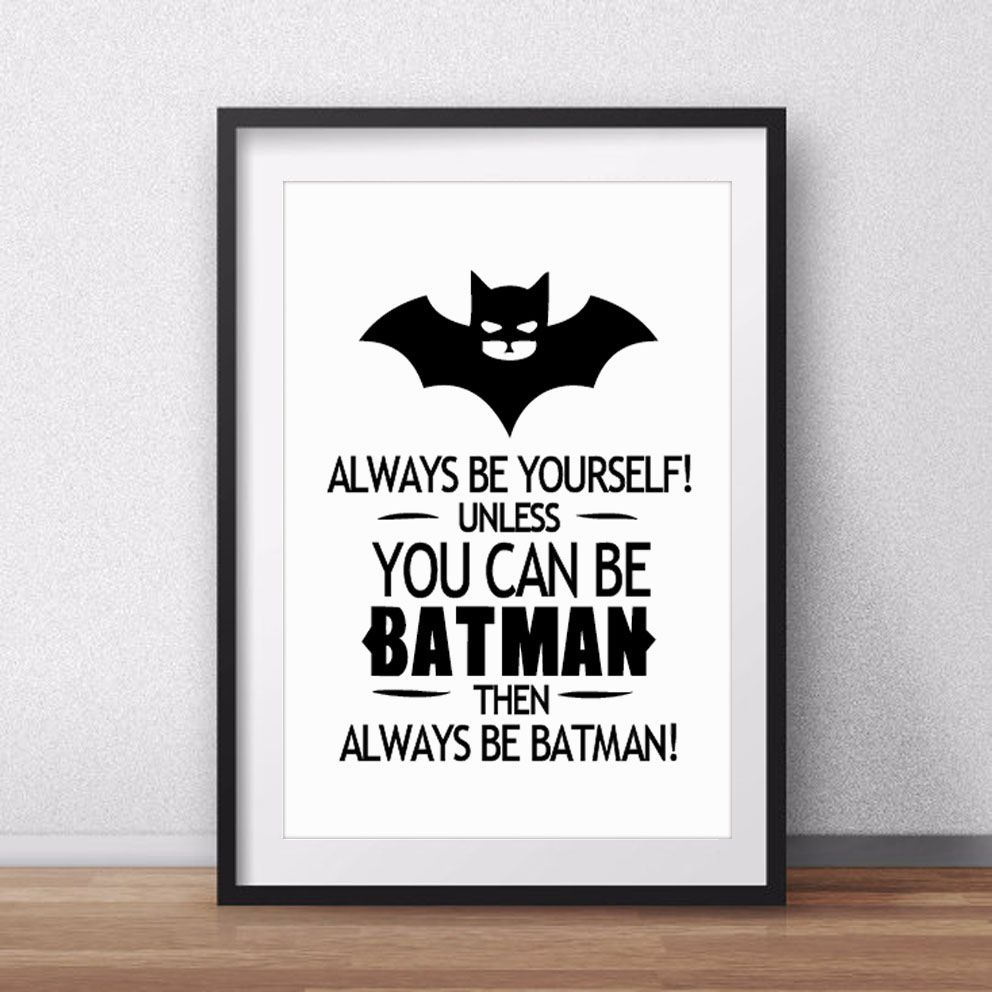 Cheap Posters Babies Buy Quality Poster Phone Directly From China Posters Trees Suppliers Batman Quote Canvas Art Print Poster Wall Pictures For Home