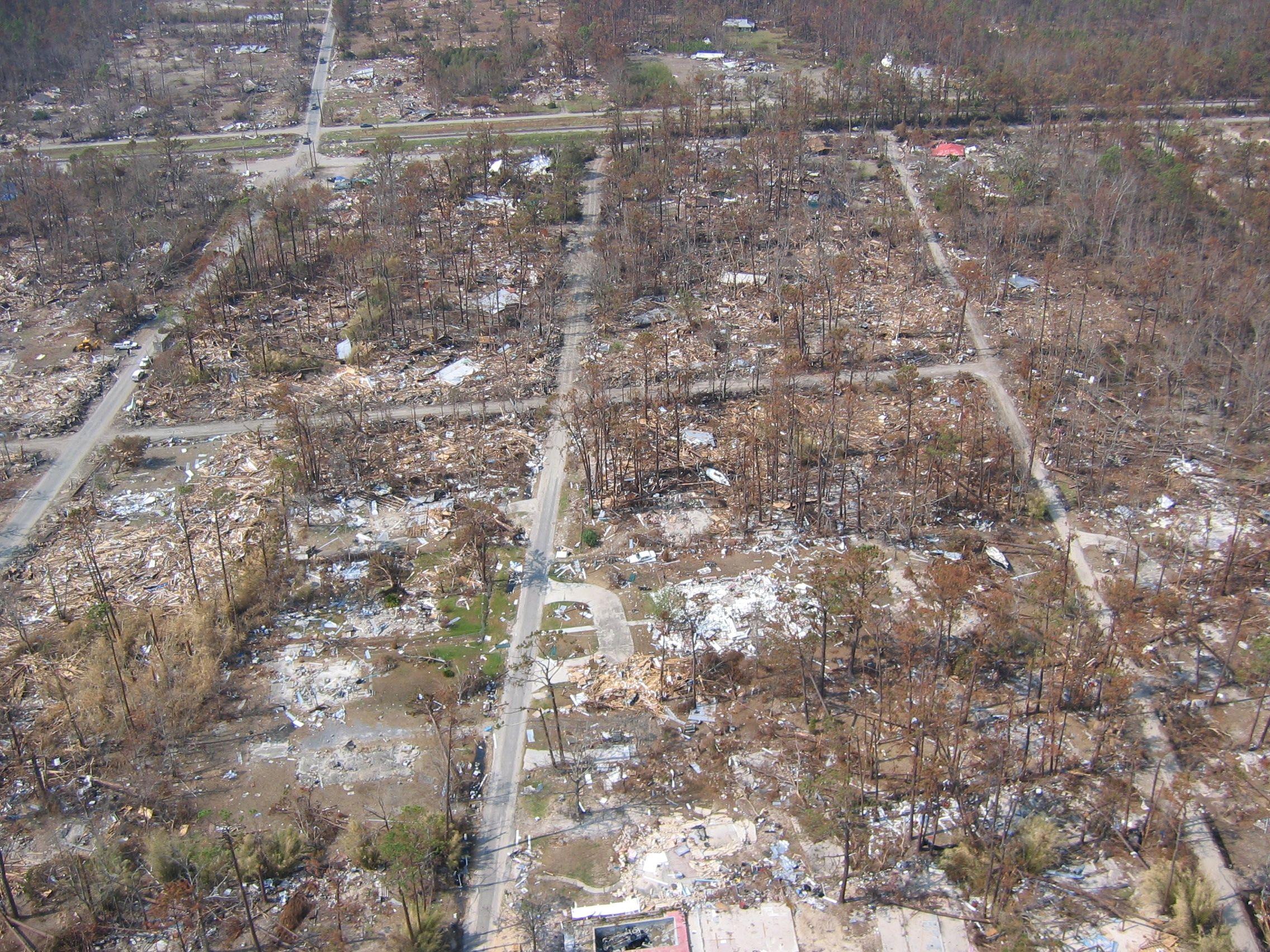Noaa Photo Library Jpg Total Devastation Following Hurricane Katrina Waveland Mississippi 2005 September 13 Hurricane Katrina Waveland Hurricane Pictures