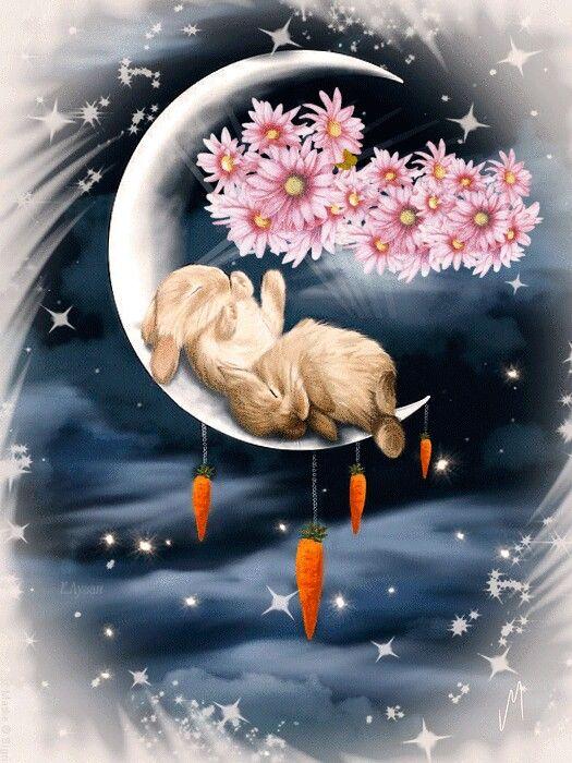 Счастливых снов картинки гиф