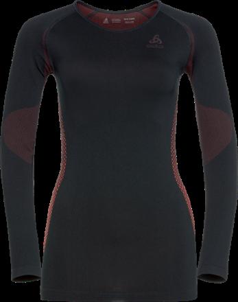 Odlo Women s Seamless Warm Essentials Crew Neck Base Layer Top ... e66e6371a