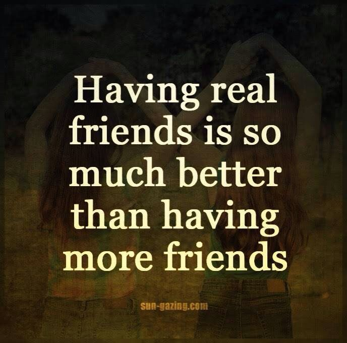 Quality Over Quantity Real Friends Lessons Learned In Life Memes Quotes